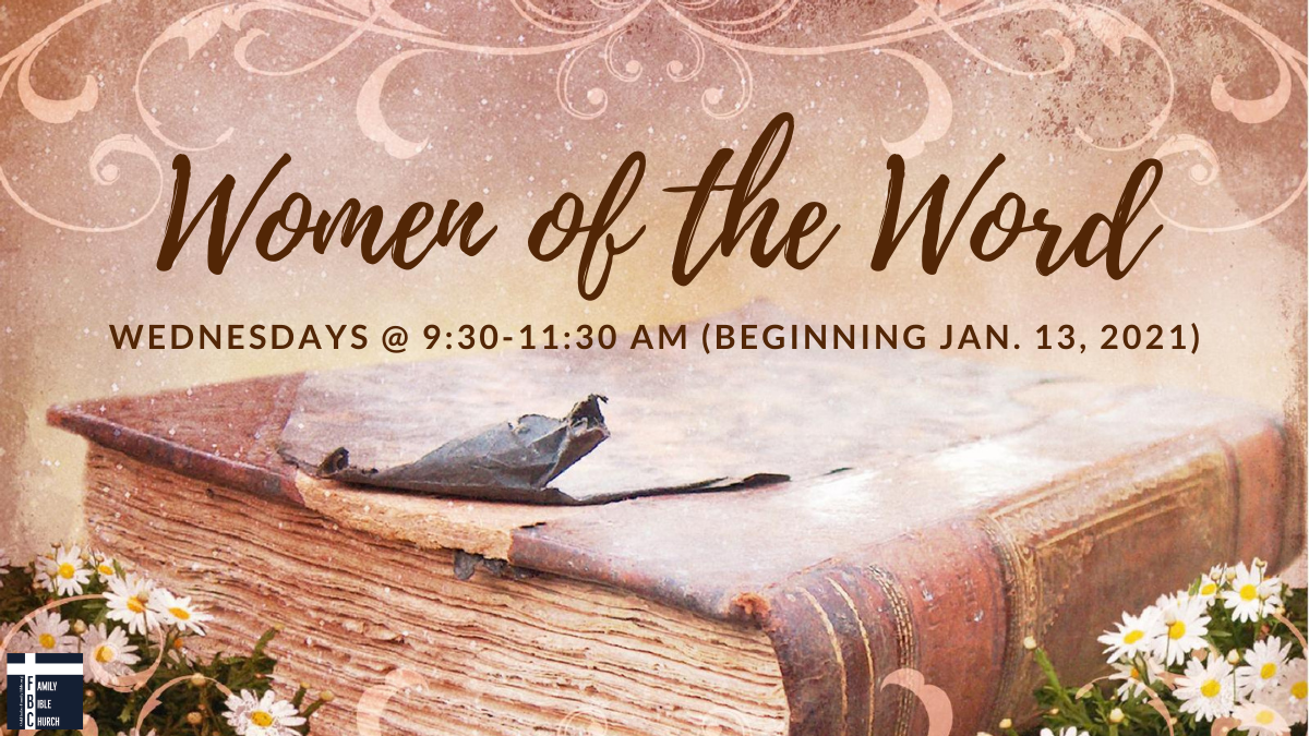 Women of the Word (Women's Bible Studies)